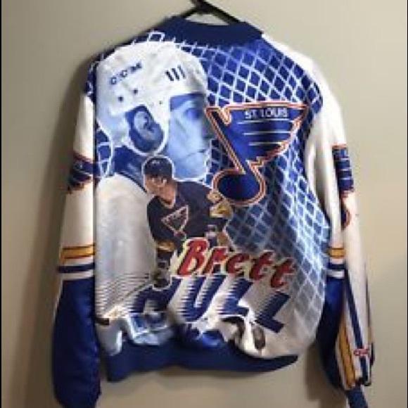 detailed look 59c1e 12dfc RARE St. Louis Blues-Brett Hull Jacket